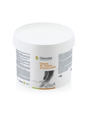Cloro Choque DICLORO Granulado Disolución Rápda CLORAMA 5KG
