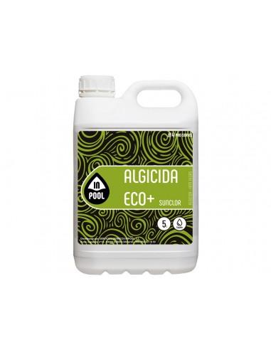 Alguicida Líquido ECO+ INPOOL 5L para piscinas y spas