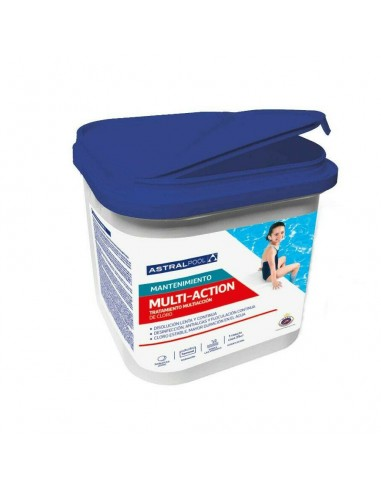 Cloro Multiacción Pastillas 250g AstralPool 5 kg