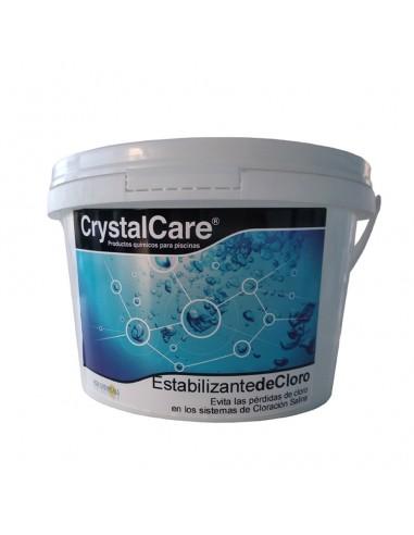 Estabilizante de Cloro para Piscina CrystalCare 5kg
