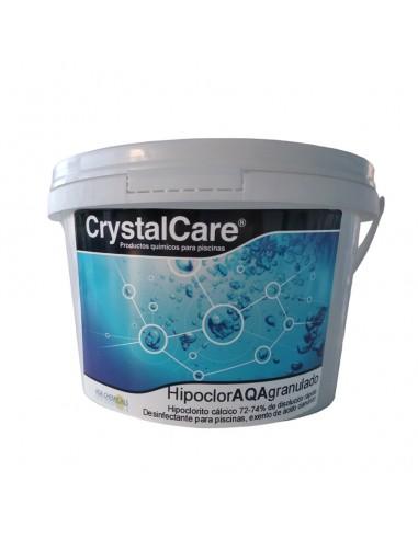 Hipoclorito Cálcico Hipoclor Granulado CrystalCare 5kg