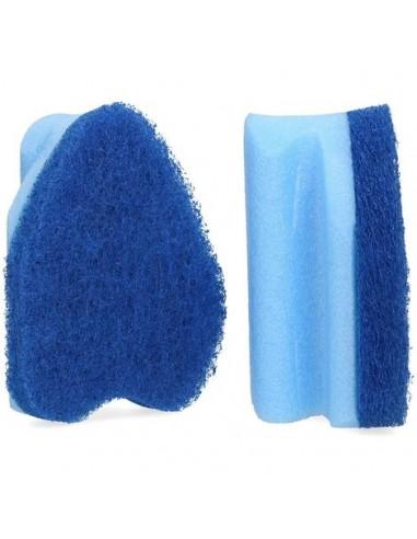Esponja desincrustante con estropajo abrasivo para limpieza de piscinas y spas