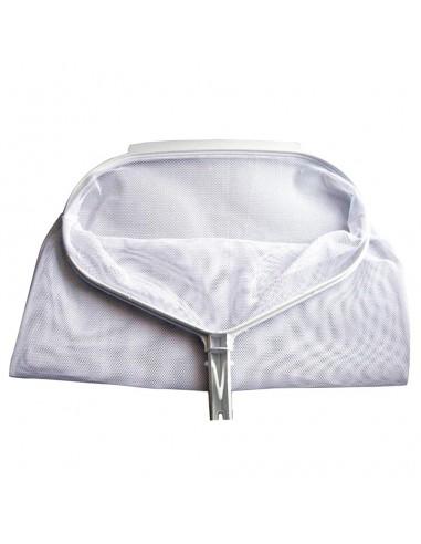 Recogehojas de bolsa con sistema de clip para piscinas
