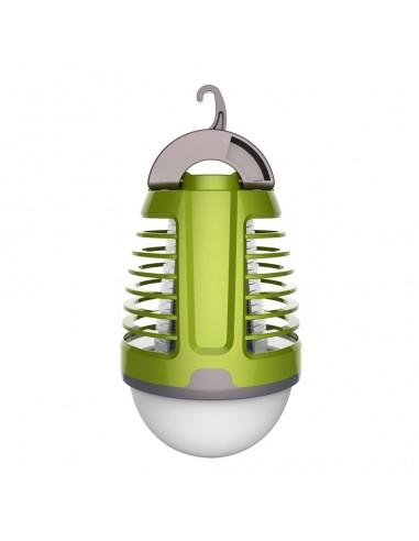 Linterna Recargable Antimosquitos para Jardín 3W+2W