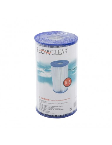 Filtro de Agua Tipo IV para Depuradora de Cartucho BESTWAY 58095