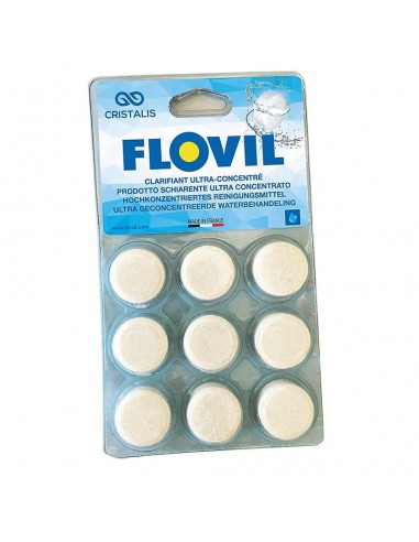 Floculante y clarificador Flovil para Piscina