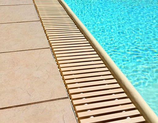 Rejilla piscina